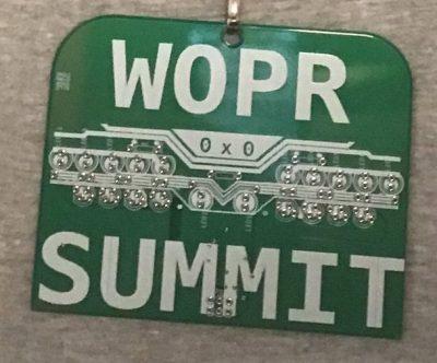 WOPR Badge