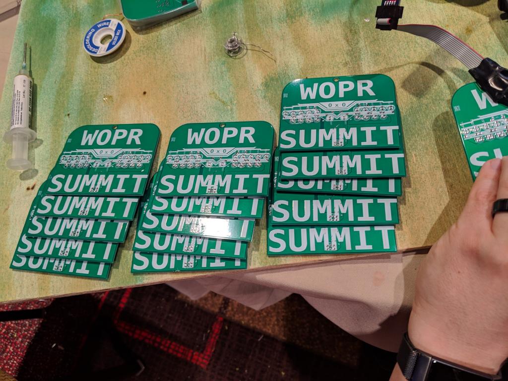 WOPR Badges